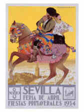 Spanish and Portuguese Vintage Poster Artists - Fine Art ...