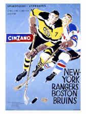 Vintage Hockey Posters