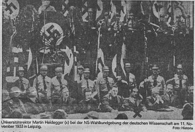 Heidegger with NSDAP