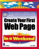 Create Your First Web Page In a Weekend