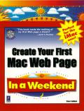 Create Your First Mac Web Page In a Weekend